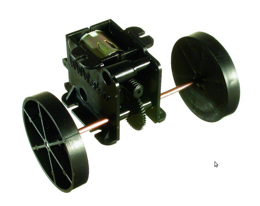 Ensemble moteur+transmission+roues